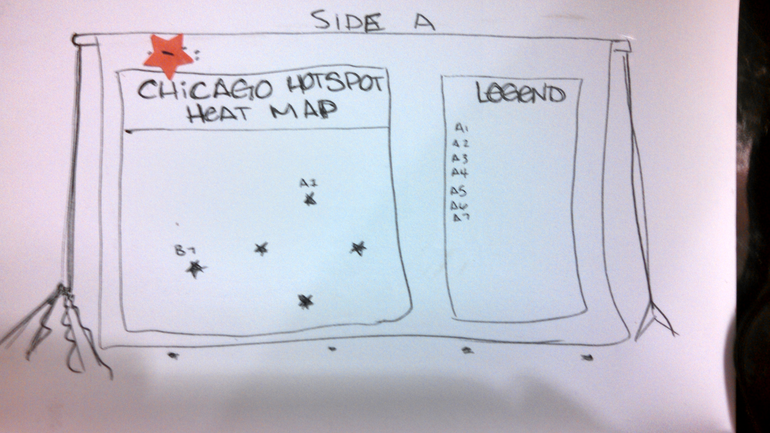 Chicago Hot Spot Heat Map – : ) ( : on