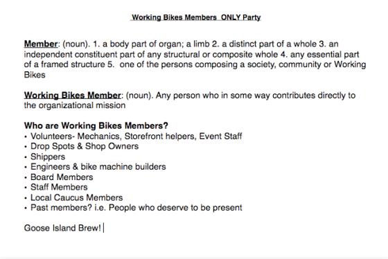 Party Brainstorm